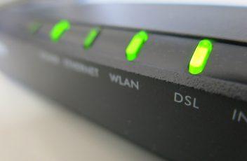Internet DSL afsluiten