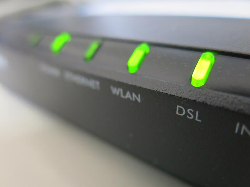 DSL verbinding internet